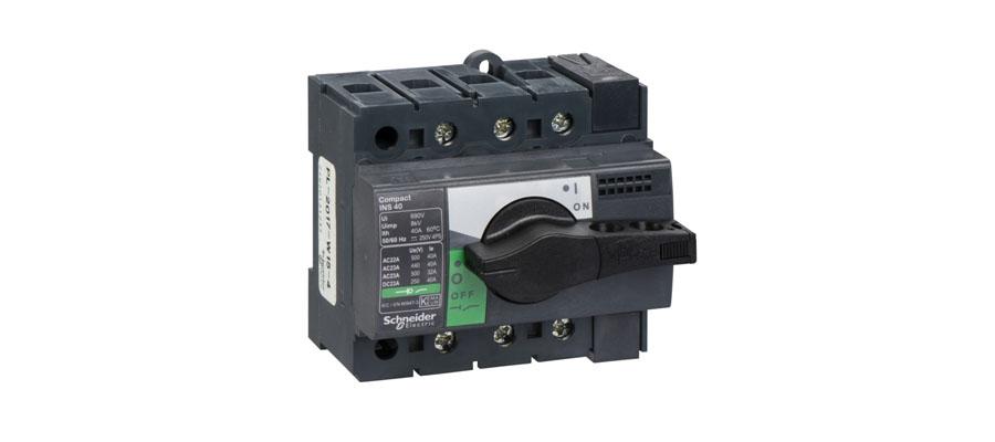 Выключатель-разъединитель Compact серии inv/INS SCHNEIDER ELECTRIC (ШНАЙДЕР ЭЛЕКТРИК)
