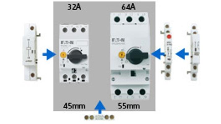 Автоматический выключатель PKZM0 защиты электродвигателей