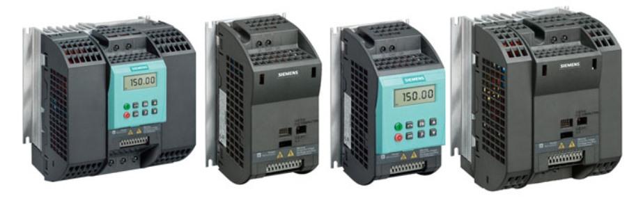 Sinamics G110 преобразователи частоты
