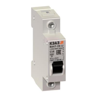 ВА47-29 выключатели на токи до 63А
