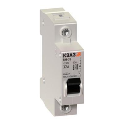 ВН-32 Модульные выключатели нагрузки на токи до 100А