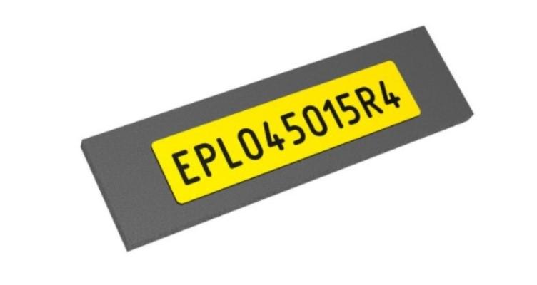EPL Самоклеящиеся этикетки с глянцевым покрытием