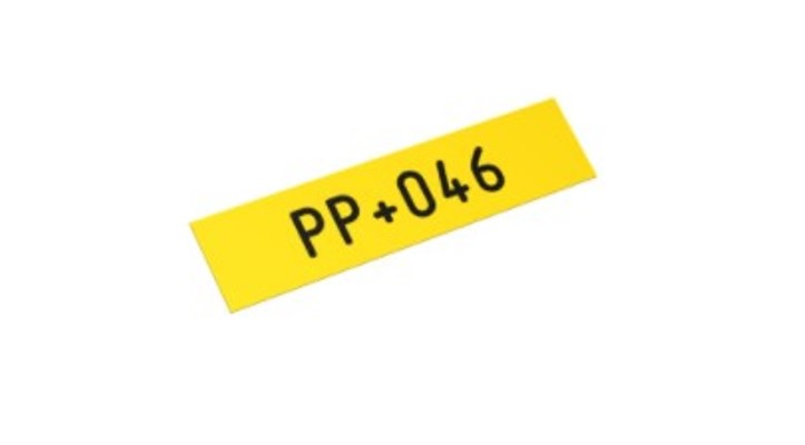 PP Вставной плоский профиль