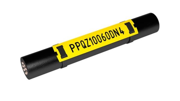 PPQZ Безгалогенный плоский кабельный маркер
