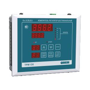 ТРМ136 шестиканальный регулятор