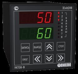 УКТ38-В восьмиканальный измеритель