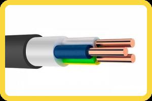 Монолитный кабель (ВВГ, ВВГ нг)