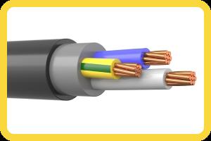 Силовой кабель типа ВВГнг-FRLS