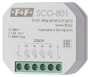 Регуляторы освещённости (диммеры) SCO-801