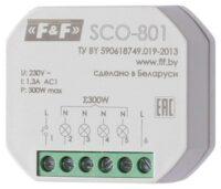 Регуляторы освещённости диммеры SCO 801