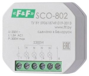 Регуляторы освещённости (диммеры) SCO-802